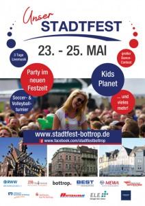 Plakat Stadtfest Bottrop