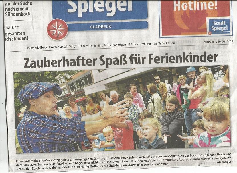 Stadtspiegel 30 Juli 2014