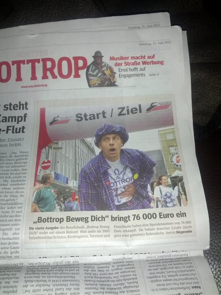 Zauberer bei Bottrop Beweg Dich 2013