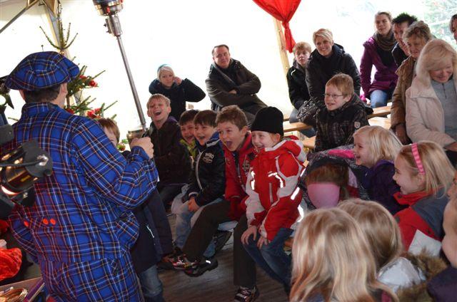 Weihnachtsmarkt Bottrop Kinderzaubershow