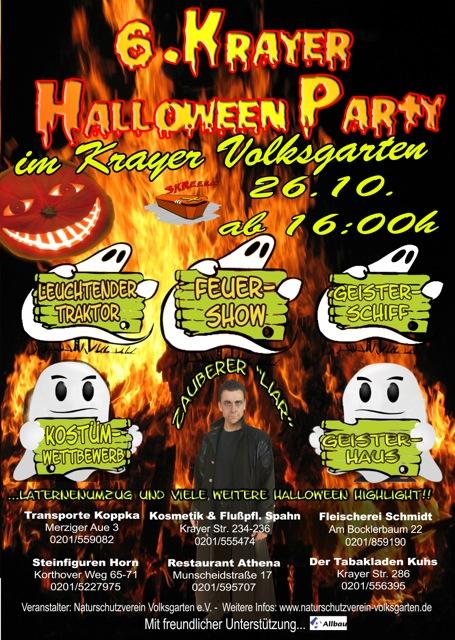 Halloween Party Volksgarten Kray Kray
