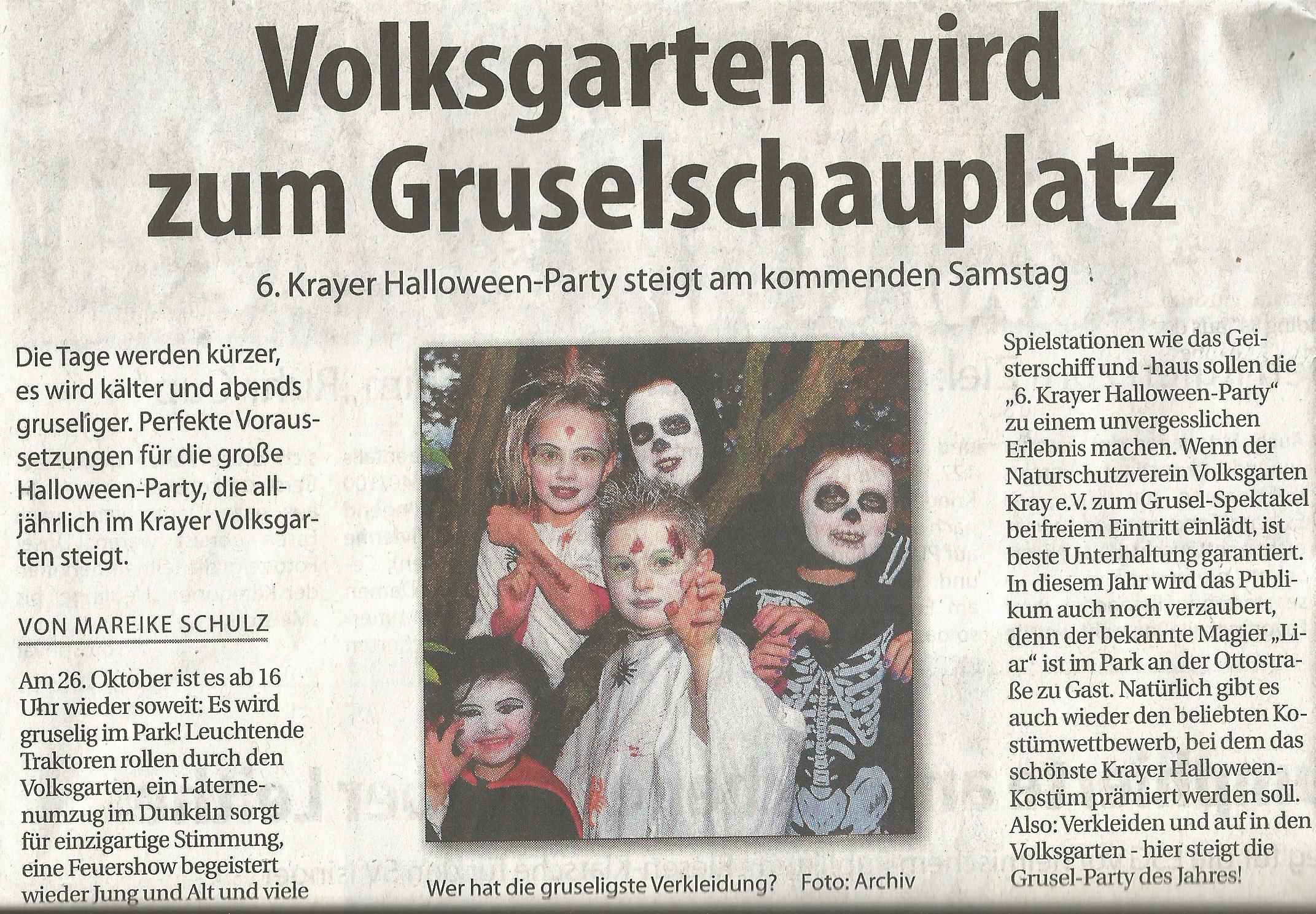 Halloween in Kray 2