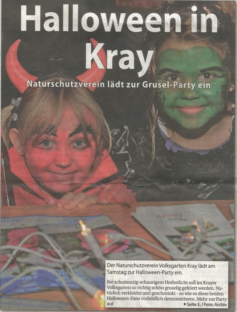 Halloween in Kray
