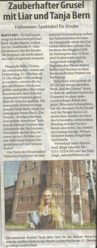 Stadtspiegel Halloween 16 Okt 2013