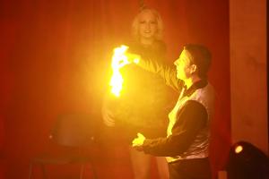 Bühnenprogramm mit Zauberer LIAR