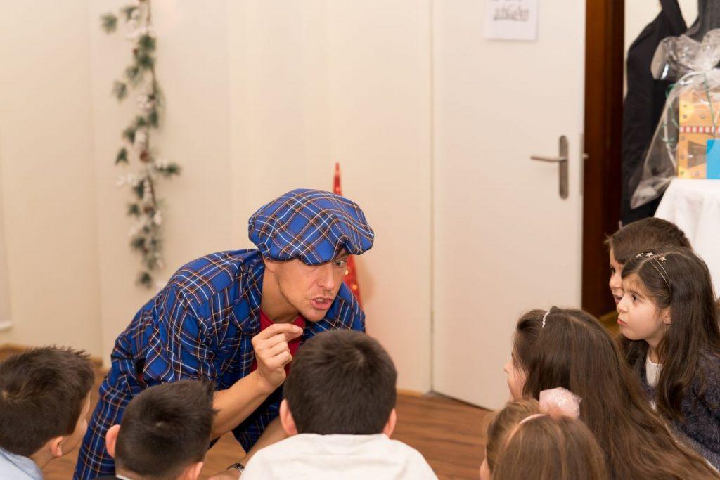 Kindergeburtstag mit Zauberer LIAR für Kinder